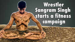 Sangram Singh starts a fitness campaign to motivate people during lockdown