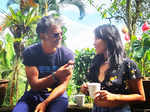 Milind Soman and Ankita Konwar pictures