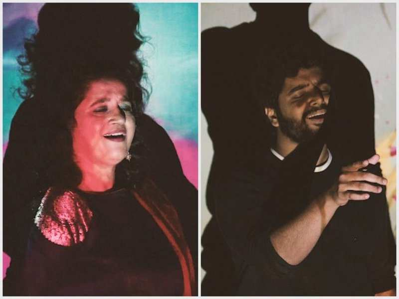Bollywood and Sufi singer Kavita Seth and son Kanishk blend traditional with electronic music