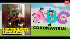ABC of coronavirus: These two kids are reciting a poem to drive away coronavirus!
