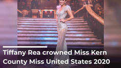 Tiffany Rea crowned Miss Kern County Miss United States 2020