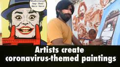Coronavirus pandemic inspires artwork