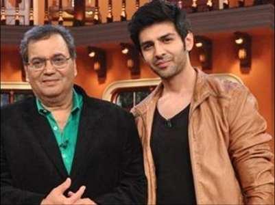 Kartik Aaryan is all praise for Subhash Ghai