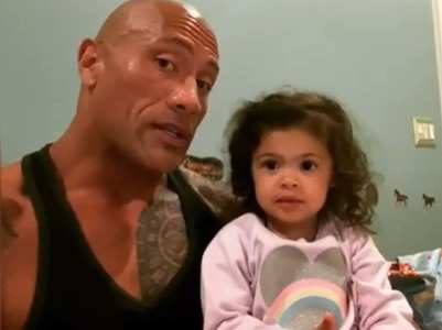 The Rock feels blessed to be with his ladies