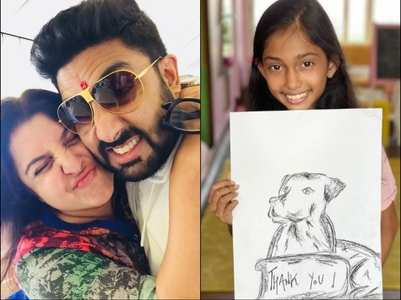 Farah thanks Abhishek for donating Rs. 1 lakh