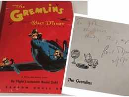 First edition of Roald Dahl's 'The Gremlins' to be auctioned