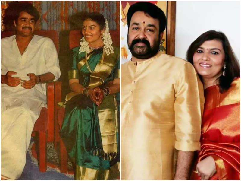 Mohanlal and Suchitra celebrate 32 years of togetherness