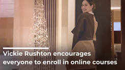 Vickie Rushton Encourages Everyone To Enroll In Online Courses