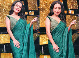 Neha's favourite look from Indian Idol 11