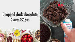 #QuarantineChef: Craving dessert? Make some chocolate mousse at home!