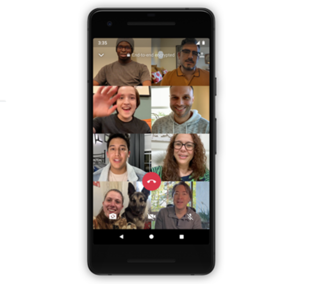 WhatsApp group voice, video calls now support 8 participants on both Android and iOS