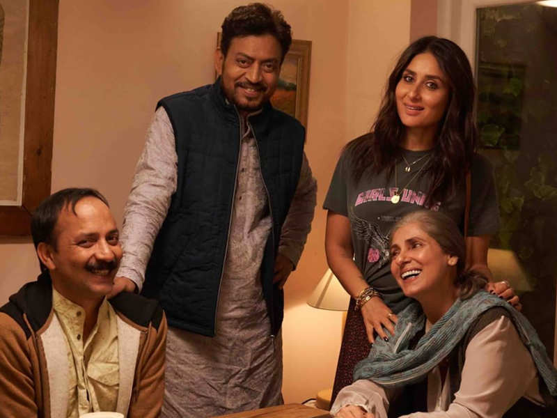 Kareena Kapoor mourns Irrfan Khan's demise; shares THIS throwback picture  from the sets of 'Angrezi Medium' | Hindi Movie News - Times of India