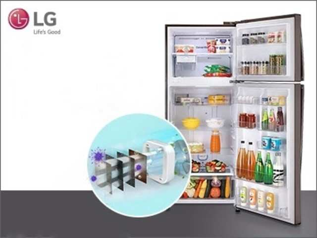 Here's why LG refrigerators are the perfect choice to keep your food fresh & healthy