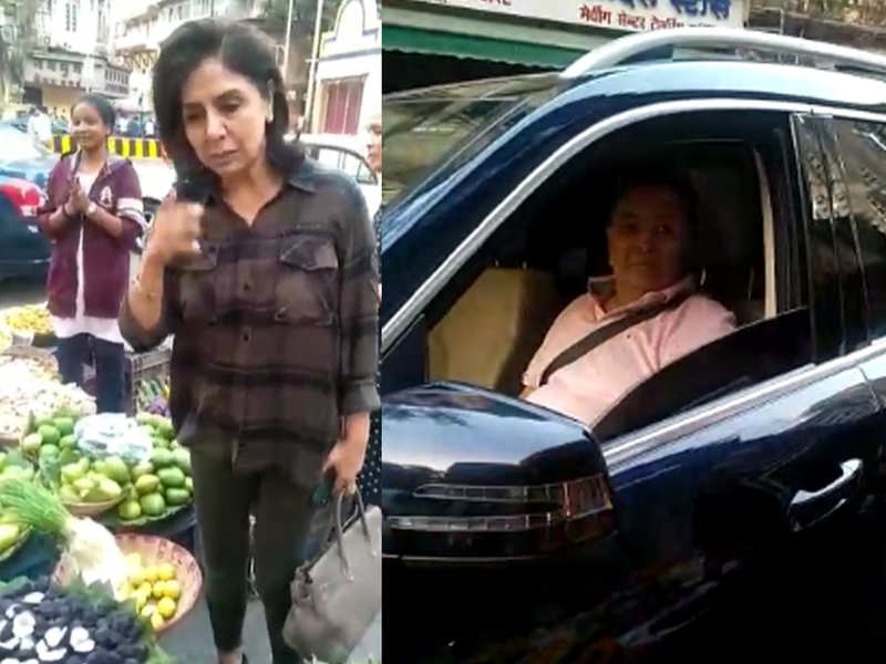 Rishi Kapoor and Neetu's video of buying vegetables at a South Mumbai market is going VIRAL on the internet - watch video