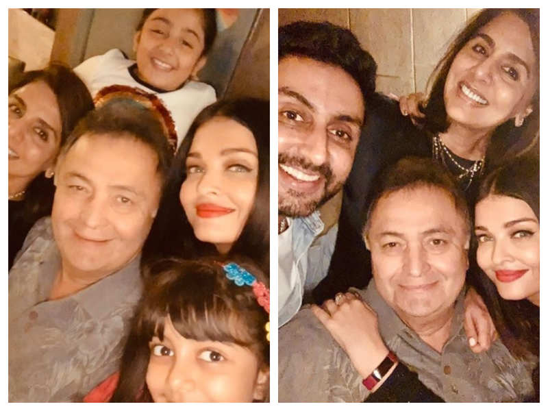 Aishwarya Rai Bachchan remembers late Rishi Kapoor through pictures, says there will never be another one