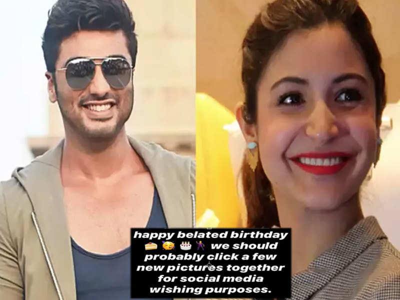 Arjun Kapoor REVEALS the reason why he couldn't wish Anushka Sharma on her birthday yesterday