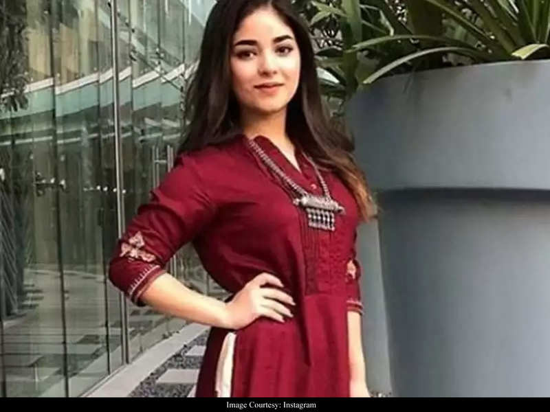 "Zaira Wasim SLAMS trolls, ""Not everyone can withstand the harsh criticism"""