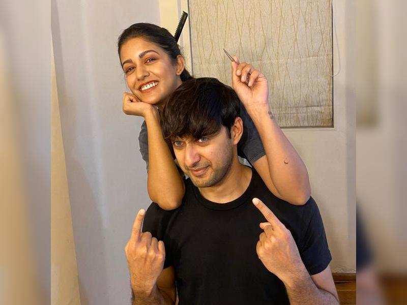 Ishita Dutta and Vatsal Sheth