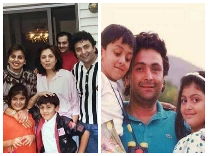 These UNSEEN throwback pictures of Ranbir Kapoor with Rishi and Neetu Kapoor will take you on a trip down the memory lane