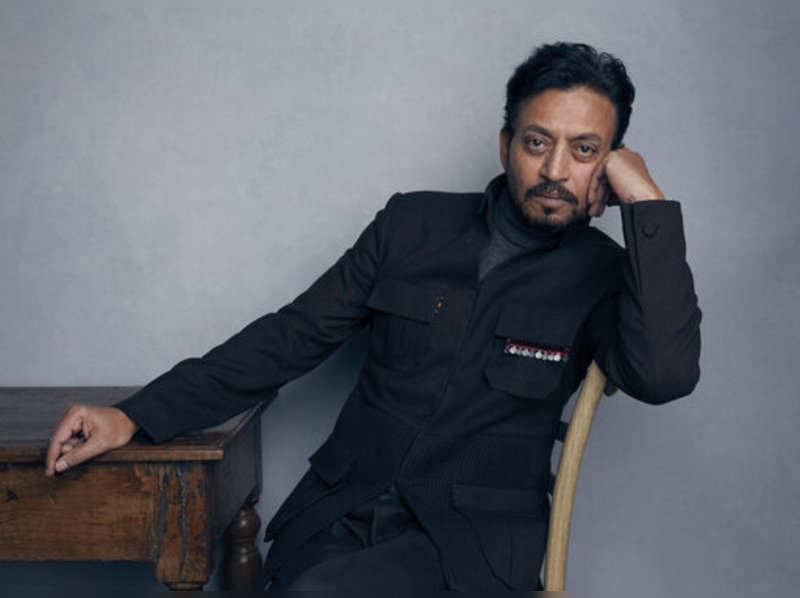 """FILE - In this Jan. 22, 2018 file photo, actor Irrfan Khan poses for a portrait to promote the film """"Puzzle"""" during the Sundance Film Festival in Park City, Utah. Khan, a veteran character actor in Bollywood movies and one of India's best-known exports to Hollywood, died Wednesday, April 29, 2020, after being admitted to Mumbai's Kokilaben Dhirubhai Ambani hospital with a colon infection. He was 54. (File)"""
