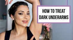 How to treat dark underarms
