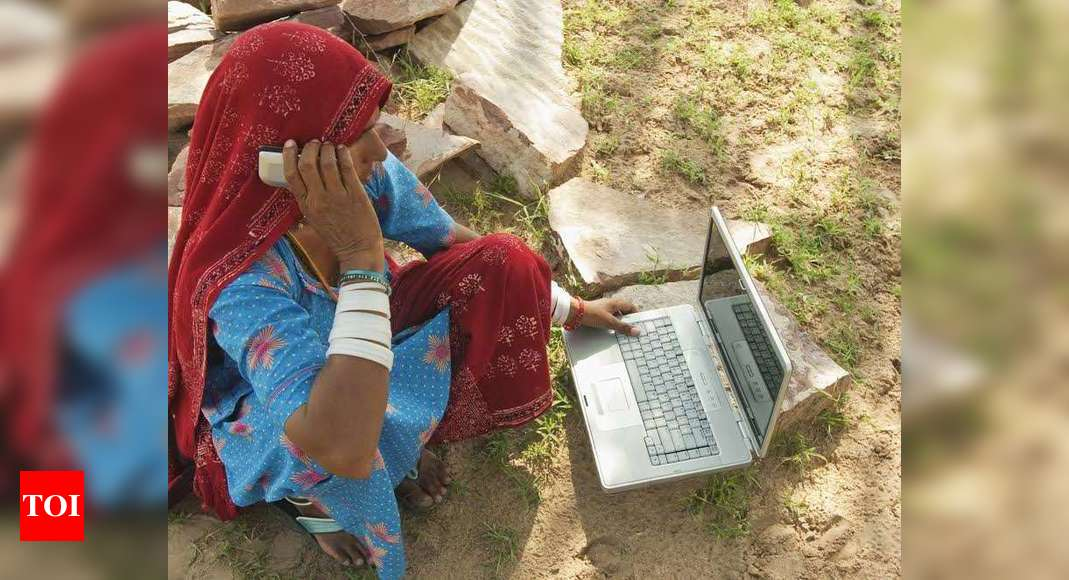 Internet Users In India For The First Time India Has More Rural Net Users Than Urban India Business News Times Of India