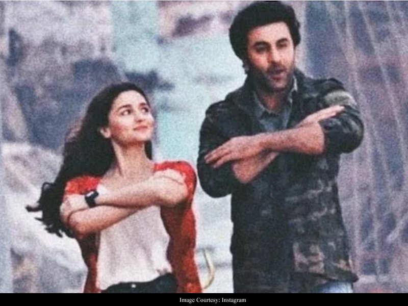 Ranbir Kapoor-Alia Bhatt starrer 'Brahmastra' footage sent to London?