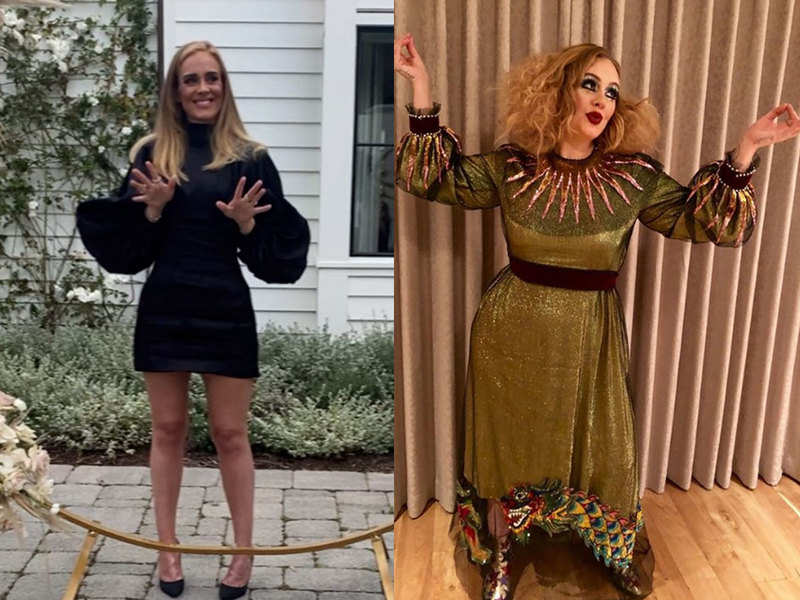 Adele S Incredible Transformation Sends Twitterati Into A Meltdown Fans Say She Has Always Been A Goddess English Movie News Times Of India