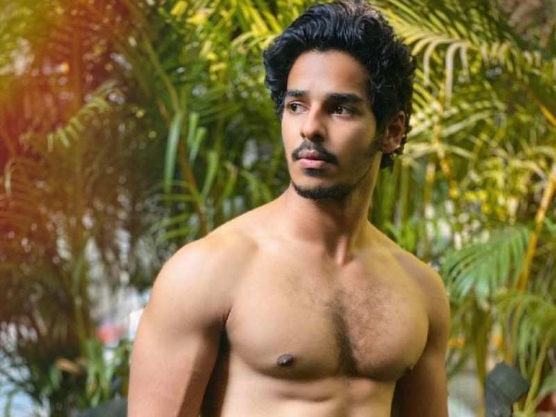 Look who is cheering for Ishaan Khatter as he works out