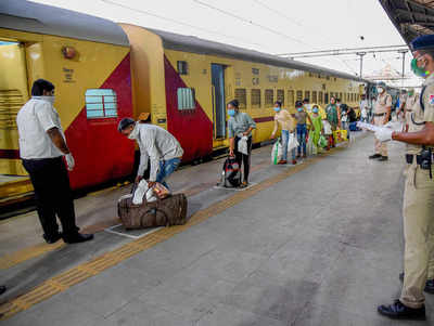 163 Shramik special trains operated so far, more than 1.60 lakh ...