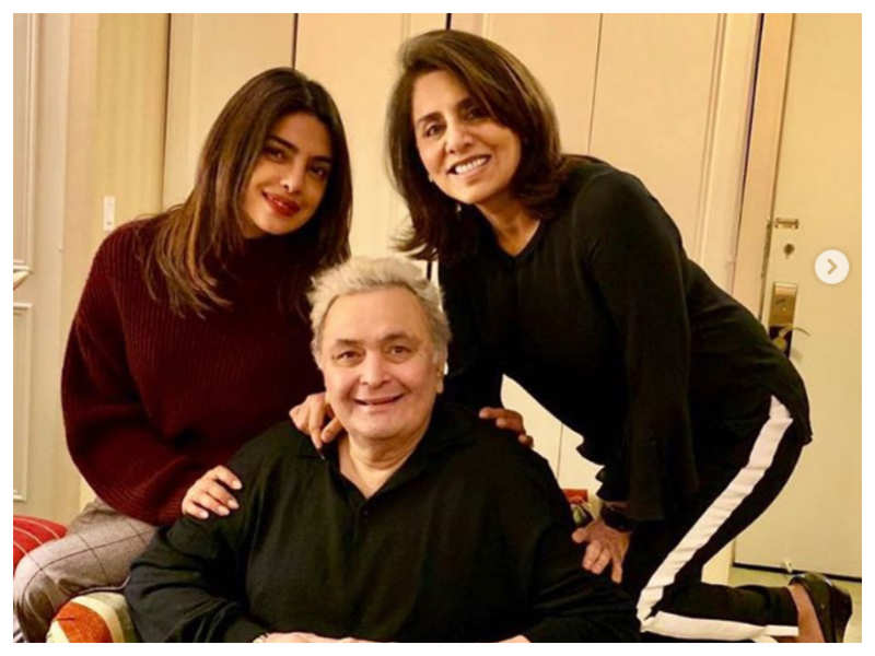 Priyanka Chopra remembers Rishi Kapoor, says his extraordinary smile could make people go weak in the knees