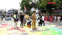 Coimbatore police and NGOs organise street plays to create awareness about the coronavirus among public