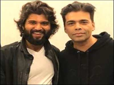 Pic: KJo wishes Vijay on his birthday