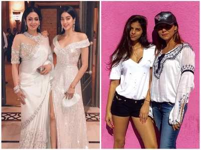 Twinning pics of B-town mother-daughter duos