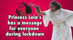 Delhi-based cosplayer Akanksha Sachan channels her inner Princess Leia from 'Star Wars'