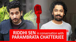 Riddhi Sen and Parambrata Chatterjee in conversation