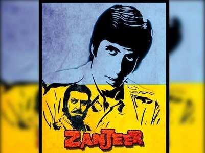 Big B celebrates 47 years of film 'Zanjeer'!