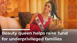 Beauty Queen Helps Raise Fund For Underprivileged Families