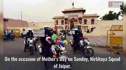 Nirbhaya Squad takes out rally in Jaipur on Mother's Day