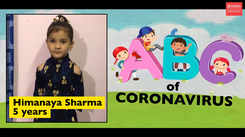 ABC of coronavirus: This 5-year-old has all the answers about coronavirus