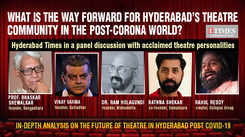 Hyderabad Times panel discussion with acclaimed theatre personalities