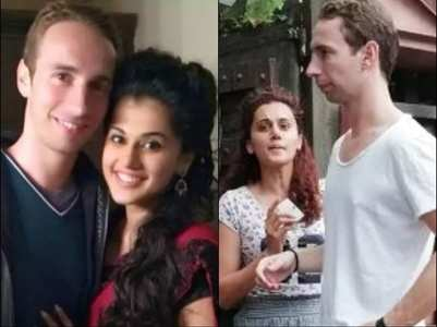 Unseen pictures of Taapsee-Mathias