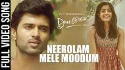 Watch Popular Malayalam Official Music Video Song 'Neerolam Mele Moodum' From Movie 'Dear Comrade' Sung By Gowtham Bharadwaj Featuring Vijay Deverakonda And Rashmika Mandanna