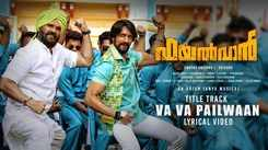 Check Out Popular Malayalam Trending Official Lyrical Music Video Song 'Va Va Pailwaan' From Movie 'Pailwaan' Sung By Deepesh and MC Vicky Featuring Kichcha Sudeepa and Suniel Shetty