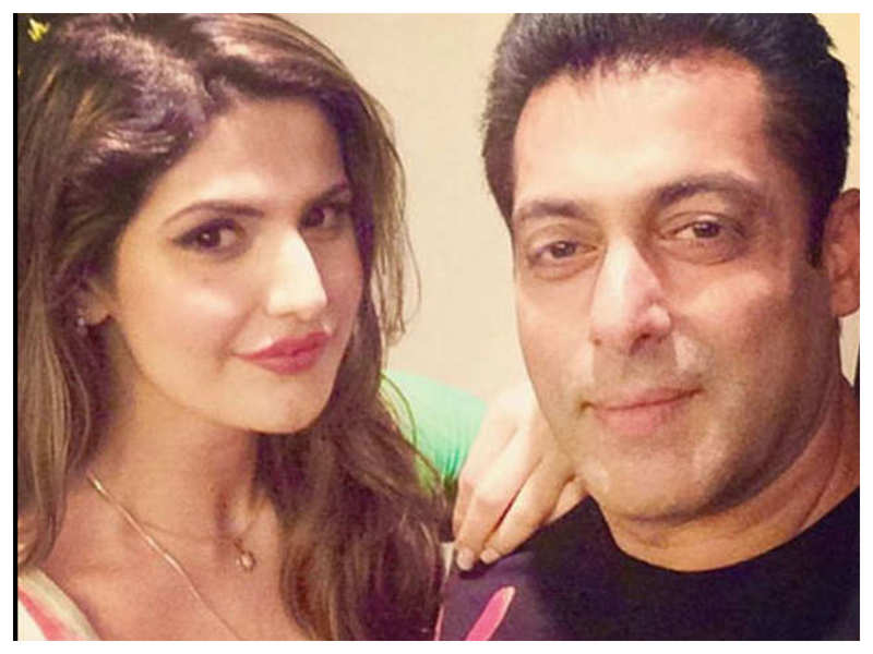 Did you know that Zareen Khan met Salman Khan on the sets of 'Yuvvraaj' as a fan and he got her portfolio made on the same day?