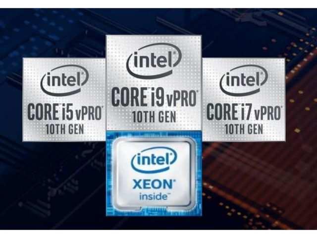 Intel announces 10th gen vPro mobile and desktop processors