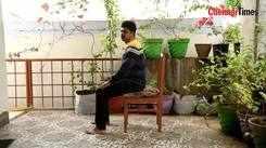 Dancer Edwin teaches Chaircocise
