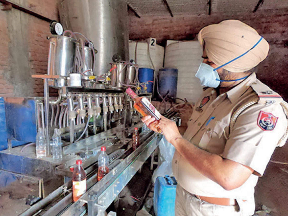Illicit liquor making unit busted in Patiala, six booked | Ludhiana News -  Times of India