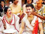 Priyanka Chopra and Nick Jonas's haldi ceremony