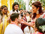 Priyanka Chopra and Nick Jonas's haldi ceremony